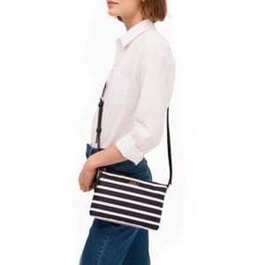 Kate Spade Sailing Stripe Triple Gusset Crossbody